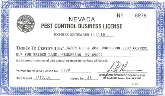 About Us – Henderson Pest Control